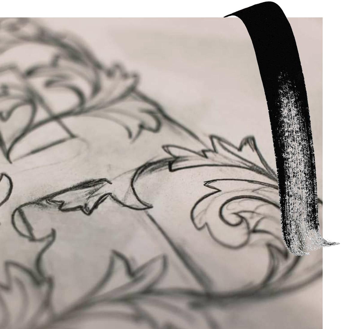 calligrafia-dettaglio-disegno